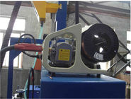 Light pole machine with Submerged Arc Welding , Gas-shielded welding ( CO2 ) Welding system