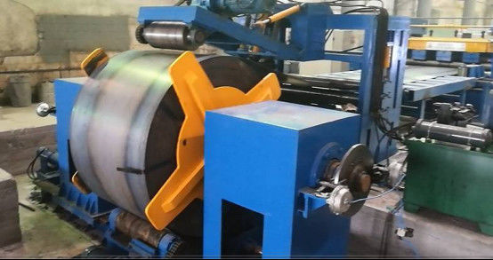 800 - 1600mm Q235A hot rolled mild Steel Coil Cut To Length Machine Line